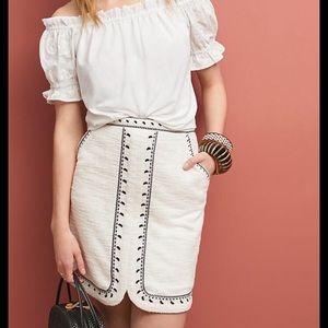 Dolan Left Coast Tulley Textured Mini Skirt, XS